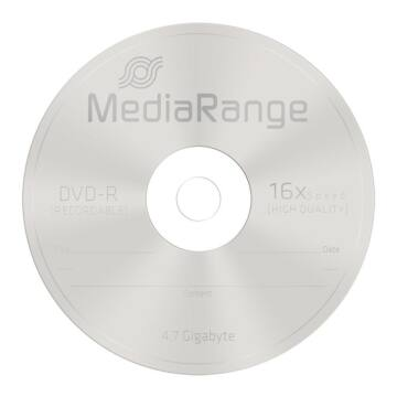Mediarange DVD-R 16X 4,7 GB Lemez - Papírtokban (10)