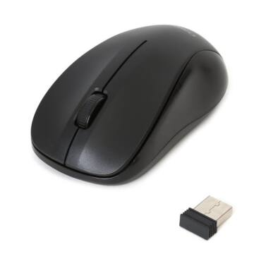 Mouse Omega OM-412Blk Wireless 2,4Ghz 1000Dpi - Black - 42978