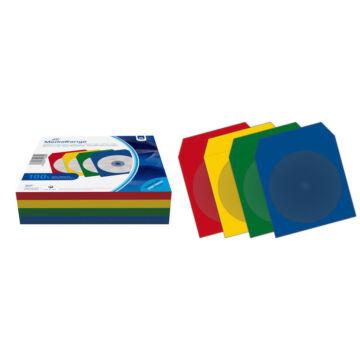 Mediarange Cd - DVD Papírtok Színes (100)