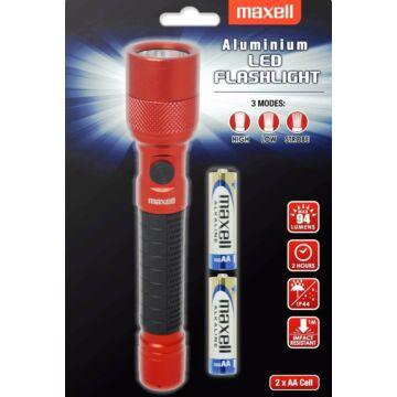 Maxell Elemlámpa AA LED - Piros