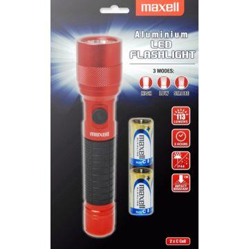 Maxell Elemlámpa C LED - Piros