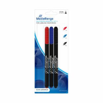 Mediarange Marker set (3 colors) 1mm MR701