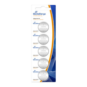 Mediarange CR2450 Lítium Gombelem (5)