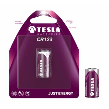 Tesla CR123 CR17345 Lítium Elem (Blister)