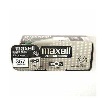 Maxell Ezüst-Oxid Gombelem Sr44Sw (357)