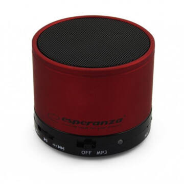 Esperanza Bluetooth Hangszoró Alu - Bordó