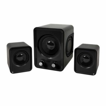 Omega Speakers 2.1 Og-21U 2X3W + 5W Subwoofer - Fekete - 42768