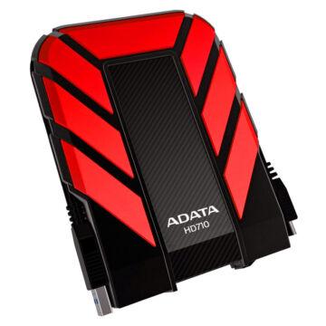 """Adata HD710 Pro 1TB HDD 2,5"""" IP68 Por, Víz És Ütésálló Külső Merevlemez, USB 3.1 Piros (AHD710P-1TU31-CRD)"""