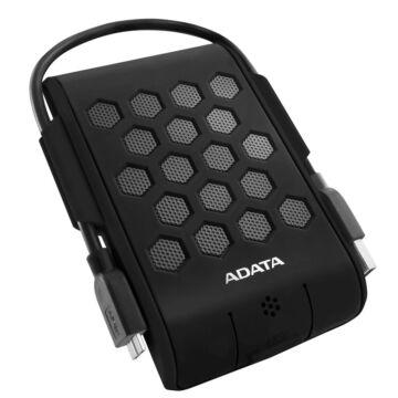 """Adata HD720 1TB HDD 2,5"""" IP68 Por, Víz És Ütésálló Külső Merevlemez, USB 3.0 Fekete (AHD720-1TU3-CBK)"""