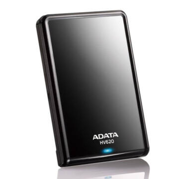 "Adata Hv620 500GB HDD 2,5"" Külső Merevlemez, USB 3.0 Fekete (AHV620-500GU3-CBK)"