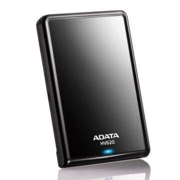 """Adata Hv620 2TB HDD 2,5"""" Külső Merevlemez, USB 3.0 Fekete (AHV620-2TU3-CBK)"""