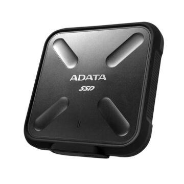 Adata SD700 256GB SSD meghajtó USB 3.1 Fekete