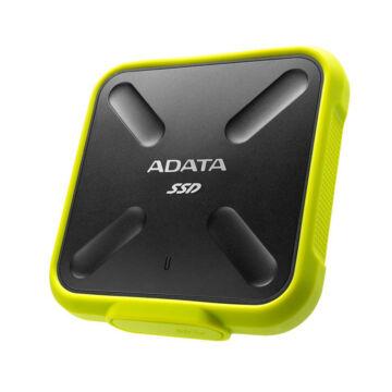 Adata SD700 256GB SSD meghajtó USB 3.1 Fekete/Sárga