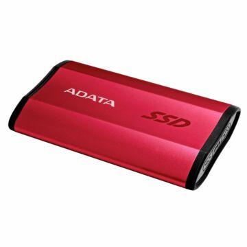 Adata SE730H 250GB SSD meghajtó USB 3.1 Type-C (Gen.2) Piros