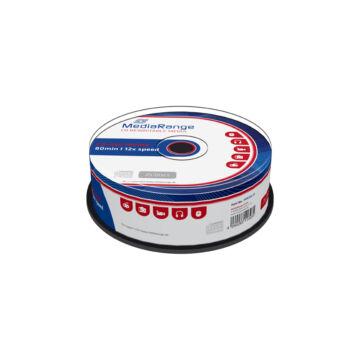 Mediarange CD-RW 700 Mb 12X Lemez - Cake (25)