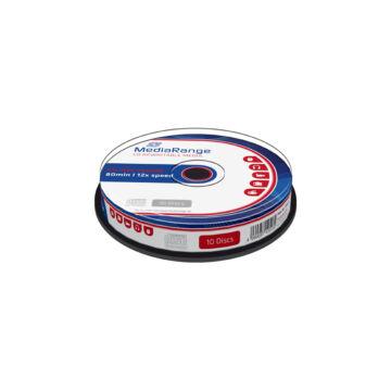 Mediarange CD-RW 700 Mb 12X Lemez - Cake (10)