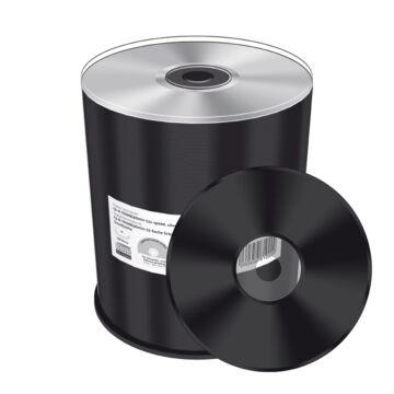 Mediarange CD-R 52X Lemez Fekete Írható Felülettel - Cake (100)