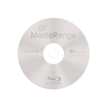 Mediarange BD-R DL 6X 50 gB Blu-Ray Lemez - Papírtokban (1)