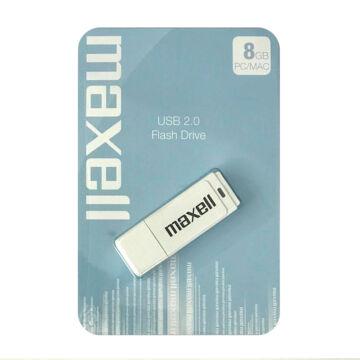 Maxell 8GB Pendrive USB 2.0 - White