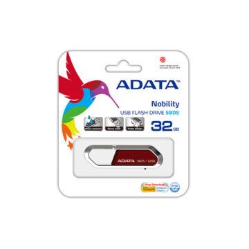 ADATA S805 Sporty 32 GB pendrive USB 2.0 - Piros