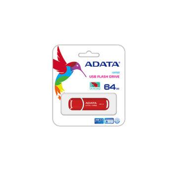 ADATA UV150 Slim 64 GB pendrive USB 3.0 - Piros