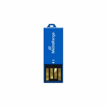 Mediarange Nano Paper-Clip 8GB Pendrive USB 2.0