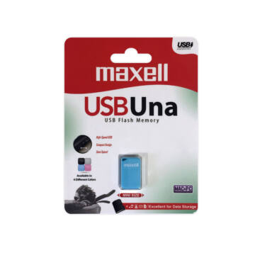 Maxell Una 8GB Pendrive USB 2.0 - Blue