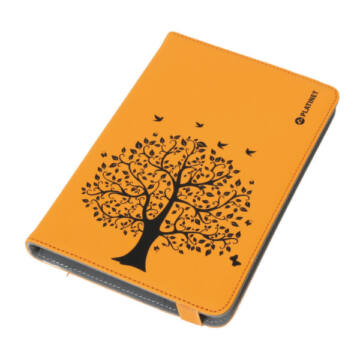 PLATINET ETUI NA TABLET 7-7,85 TOK - NATURE TREE-ORANGE - PTO78NTO