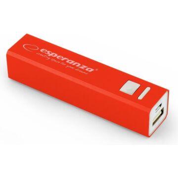 Esperanza Emp102 Erg Külső Akkumulátor 2400mAh Powerbank - Piros