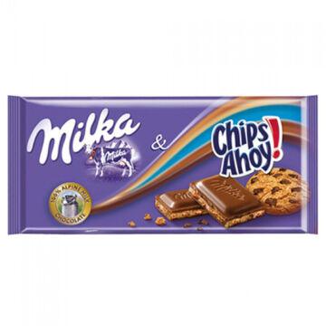 Milka Alpesi Tejcsokoládé Csokidarabos Keksz Töltelékkel 100 g