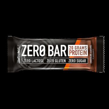 BioTech USA Zero Bar Fehérje Szelet Csokis Karamellás Ízben 50 g