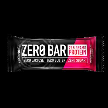 BioTech USA Zero Bar Fehérje Málnás Sajttorta Ízben 50 g