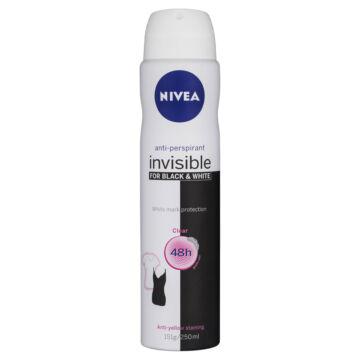 Nivea Invisible For Black & White Original női dezodor 150ml