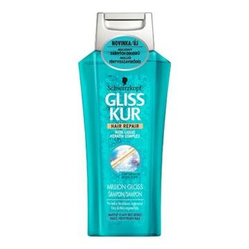 Gliss Kur Million Gloss Hajregeneráló Sampon 250 ml
