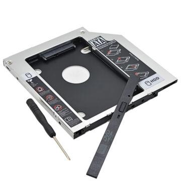 Second HDD Caddy Optibay illesztő keret Macbook Pro Unibody
