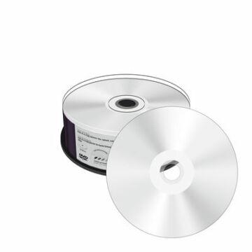 Mediarange DVD-R Nyomtatható, Ezüst Felületű Lemez - Cake (25)