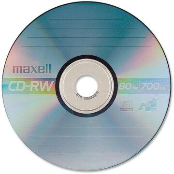 Maxell CD-RW 4X Lemez - Papírtokban (10)