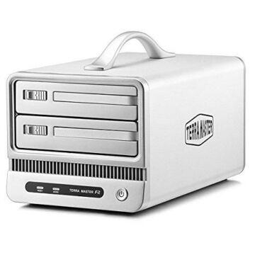 TerraMaster RAID merevlemez rendszer (F2-800) USB 2.0, e-SATA, FireWire 1394B
