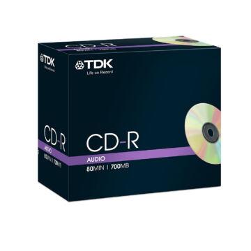 TDK CD-R 40X Audio Lemez - Normál Tokban (5)