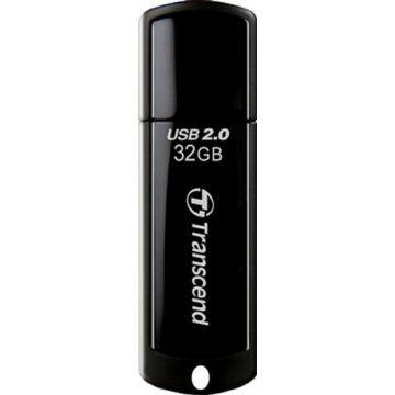 Transcend 64GB USB 2.0 Pendrive Jetflash 350 Fekete