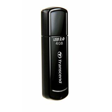 Transcend 4GB USB 2.0 Pendrive Jetflash 350 Fekete