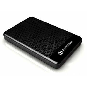 Transcend Storejet 25A3 500GB USB 3.0 2,5'' HDD Külső Merevlemez, Fekete
