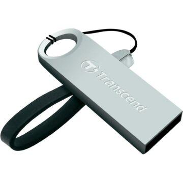 Transcend 8GB USB 2.0 Pendrive Jetflash 520 Fém Ezüst