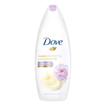 Dove Purely Pampering Bazsarózsa-Tejszín Tusfürdő 250 ml