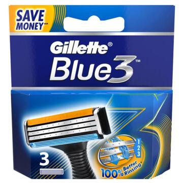 Gillette Blue3 Penge (3 db)