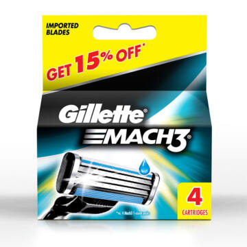 Gillette Mach3 Penge (4 db)