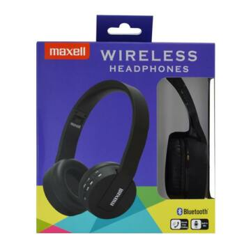 Maxell Headphone Bluetooth BT800 Black