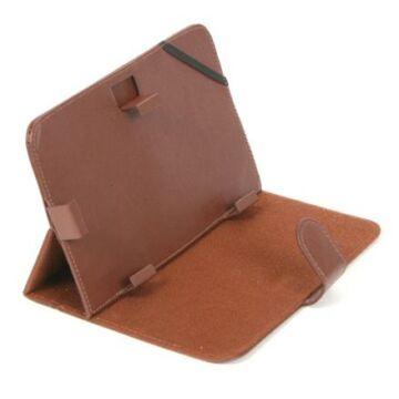 FIESTA GEORGIA 7 colos tablet tok, támasztó állvány funkcióval (barna), öko-bőrből 41669
