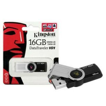 16 GB pendrive Kingston USB 2.0 DataTraveler 101 G2 fekete