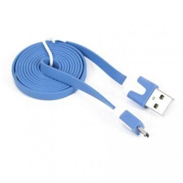 Omega Ouamcbl USB 2.0 - Micro USB Töltőkábel Tablethez És Okostelefonokhoz 1M Kék 41857